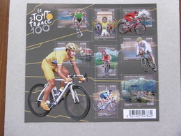 FRANCE 2013  F4755  No YT  4755/4762   CYCLISME  100e   EDITION DU TOUR DE FRANCE - Neufs
