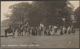 Halberton Pageant, Devon, June 1919 - RP Postcard - England