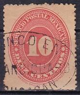 Messico, 1886 - 10 Cent Numeral, Wmk 152, Dent. 12 - Nr.180 Usato° - Messico