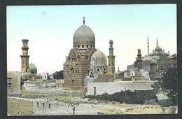 +++ CPA - Afrique - EGYPTE - LE CAIRE - CAIRO - Tombeaux Des Mamelouks Et Citadelle  // - Le Caire