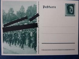 Fest-Postkarte Zum Reichsparteitag 1937, Hitler, Ungebraucht, Deutsches Reich Ganzsache (B) - Deutschland