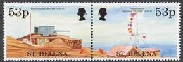 St.Helena 1995 Mi# 663-64** END OF WORLD WAR II, 50th ANNIV. - Saint Helena Island