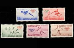 Congo 0367/71 SG JO De Rome  1960 Sans Gomme  / Without Gum - Congo Belge
