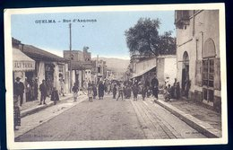 Cpa Algérie Guelma Rue D' Announa    YN17 - Guelma