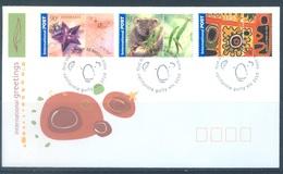 AUSTRALIA  - FDC - 23.8.2002 - INTERNATIONAL GREETINGS - Yv 2051-2053 - Lot 18608 - Premiers Jours (FDC)