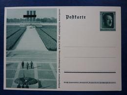 Fest-Postkarte Zum Reichsparteitag 1937, Hitler, Ungebraucht, Deutsches Reich Ganzsache (D) - Deutschland