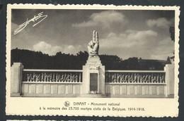 +++ CPA - DINANT - Monument National à La Mémoire ...martyrs Civils...Guerre 1914-18 - Nels    // - Dinant