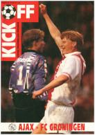 Programme Football 1992 1993 : Ajax Amsterdam V FC Groningen (Holland) - Books