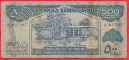 Somalie 500 Shillings 1994---G/TB+ - Somalie