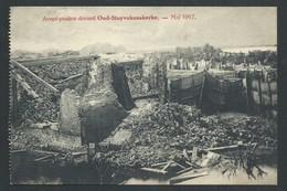 +++ CPA - Avant Postes Devant OUD STUTVEKEMSKERKE - Guerre - Mai 1917 - Cachet Militaire   // - Diksmuide