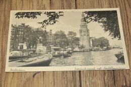 997- AMSTERDAM, ZWANENBURGWAL MET MONTELBAANSTOREN - Amsterdam