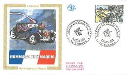 FDC Libération Hommage Aux Maquis (74 Thones 30/04/1994) - FDC