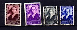1937 Belgique, Fondation Musicale Reine Elisabeth, 456 / 457ob Et 457 A / B**, Cote 18,50 €, - Belgium