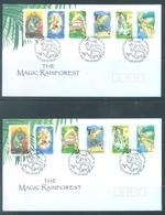 AUSTRALIA  - FDC - 25.9.2002 - MAGIC RAINFOREST - Yv 2059-2070 BLOC 73 - Lot 18610 - Premiers Jours (FDC)