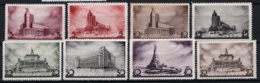 Russia 1937 Unif. 596/603 */MH VF/F - 1923-1991 URSS