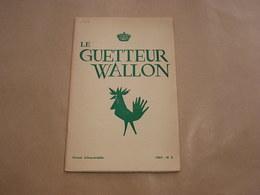 LE GUETTEUR WALLON N° 2 1961 Régionalisme Walcourt  Lessive Village De Lesse Publicité Cuisinières Au Gaz Poêlerie Ciney - Belgique