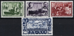 Russia 1940 Unif. 759/62 */MH VF/F - 1923-1991 URSS