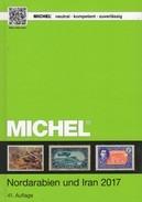 Part 1 Book 10 Nord-Arabien Michel Katalog 2017/2018 New 89€ Irak Iran Israel Syrien North-country Catalogue ARABIA - Philately
