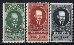 Russia 1939 Unif. 738/40 */MH VF/F - 1923-1991 URSS