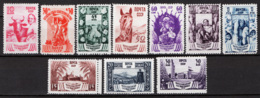 Russia 1939 Unif. 714/23 */MH VF/F - 1923-1991 URSS