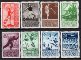 Russia 1938 Unif. 690/97 */MH VF/F - 1923-1991 URSS