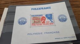 LOT 429709 TIMBRE DE COLONIE POLYNESIE NEUF** LUXE - Blocs-feuillets