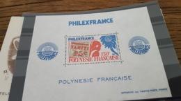 LOT 429712 TIMBRE DE COLONIE POLYNESIE NEUF** LUXE - Blocs-feuillets