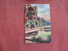 > Signed Artist-- Has Stamp & Cancel-- La Casa Delle Vestali  Italy > Lazio > Roma (Rome)     Ref 3098 - Roma (Rome)