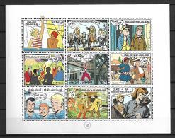 BELGIQUE     -  1999.   Y&T N° 2841 à 2849 ** .  Dessinateurs De B.D.  .  Série Complète. - België