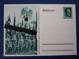 Fest-Postkarte Zum Reichsparteitag 1937 Nürnberg, Ungebraucht, Deutsches Reich Ganzsache - Deutschland
