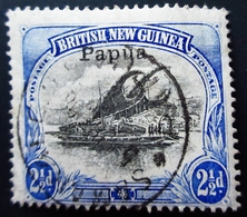 1901 Papua Mi PA 12 . Lakatoi With Hanuabada Village In Background .  Oblitéré - Papua New Guinea