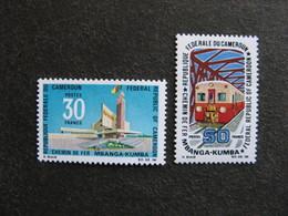 Cameroun :  TB Paire N° 477 Et N° 478. Neufs XX. - Cameroun (1960-...)