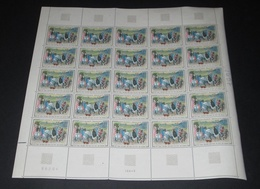 Timbre France Neuf** 1965 N° 1457 Tableau De DUC DE BERRY Feuille Complète - Feuilles Complètes