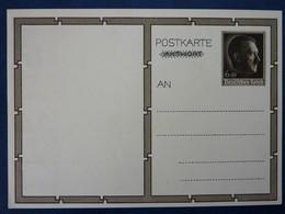 Postkarte Mit Hitler-Marke, Motiv: Hitler Und Mädchen, Ungebraucht, Deutsches Reich Ganzsache - Deutschland
