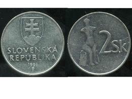 SLOVAQUIE  2 Koruna 1993 - Slovaquie