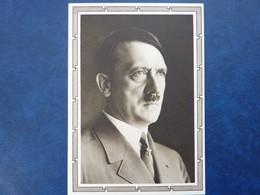 Postkarte Mit Hitler-Marke, Motiv: Hitler-Porträt, Ungebraucht, Deutsches Reich Ganzsache - Deutschland