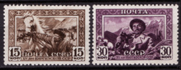 Russia 1941 Unif. 829/30 */MH VF - 1923-1991 URSS