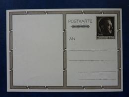 Postkarte Mit Hitler-Marke, Motiv: Hitler Und Kinder, Ungebraucht, Deutsches Reich Ganzsache - Deutschland