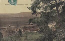 BALLANCOURT SUR ESSONNE - ESSONNE  - (91) - PEU COURANTE CPA TOILEE. - Ballancourt Sur Essonne