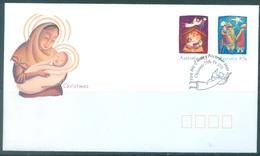 AUSTRALIA  - FDC - 1.11.2002 - CHRISTMAS - Yv 2076-2077 - Lot 18612 - Premiers Jours (FDC)