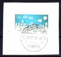 BRD Bund 2018: Mi. 3423 Sk O Gestempelt, Briefstück Mit Vollstempel, Weihnachten, S. Scan - [7] Federal Republic