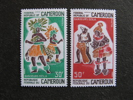 Cameroun : TB Paire N° 487 Et N° 488. Neufs XX. - Cameroun (1960-...)
