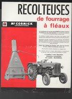 MAC CORMICK Récolteuse De Fourrage à Fléaux  (matériel Agricole) (PPP9941) - Publicités