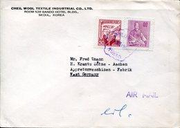 40541 South Korea, Circuled Cover 1964 From Seoul To Germany - Korea, South