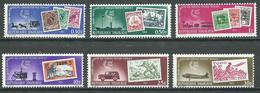 Togo YT N°371/376 Services Postaux Togolais Neuf ** - Togo (1960-...)