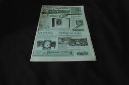 LA VIE DU COLLECTIONNEUR N°101  13 OCTOBRE 1995  LA FONTAINE REVEILS DE VOYAGE CP DE STADES.. ACHAT IMMEDIAT - Brocantes & Collections