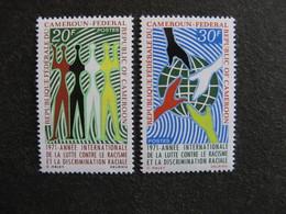 Cameroun : TB Paire N° 499 Et N° 500. Neufs XX. - Cameroun (1960-...)