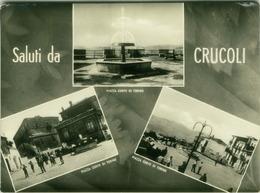CRUCOLI ( CATANZARO )  SALUTI - VEDUTINE - EDIZ. CATALDINO - 1964 ( 2805 ) - Catanzaro