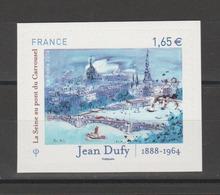 """FRANCE / 2014 / Y&T N° AA 1032 ** : Du Carnet Salon Planète Timbres (""""La Seine.... Par Jean Dufy) - Etat D'origine - France"""