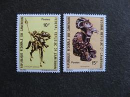 Cameroun : TB Paire N° 507 Et N° 508. Neufs XX. - Cameroun (1960-...)